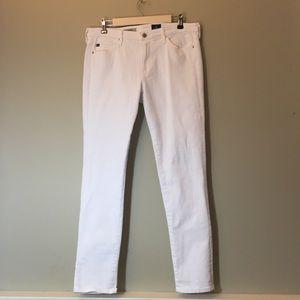 Adriano Goldschmied The Prima White Cigarette Jean